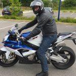 Laurent sur son S1000RR BMW