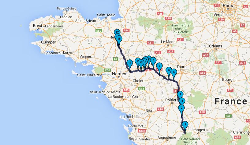 Retour sur Rennes : jour 6