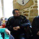 Christiane, Lionel et Philippe à Moncontour