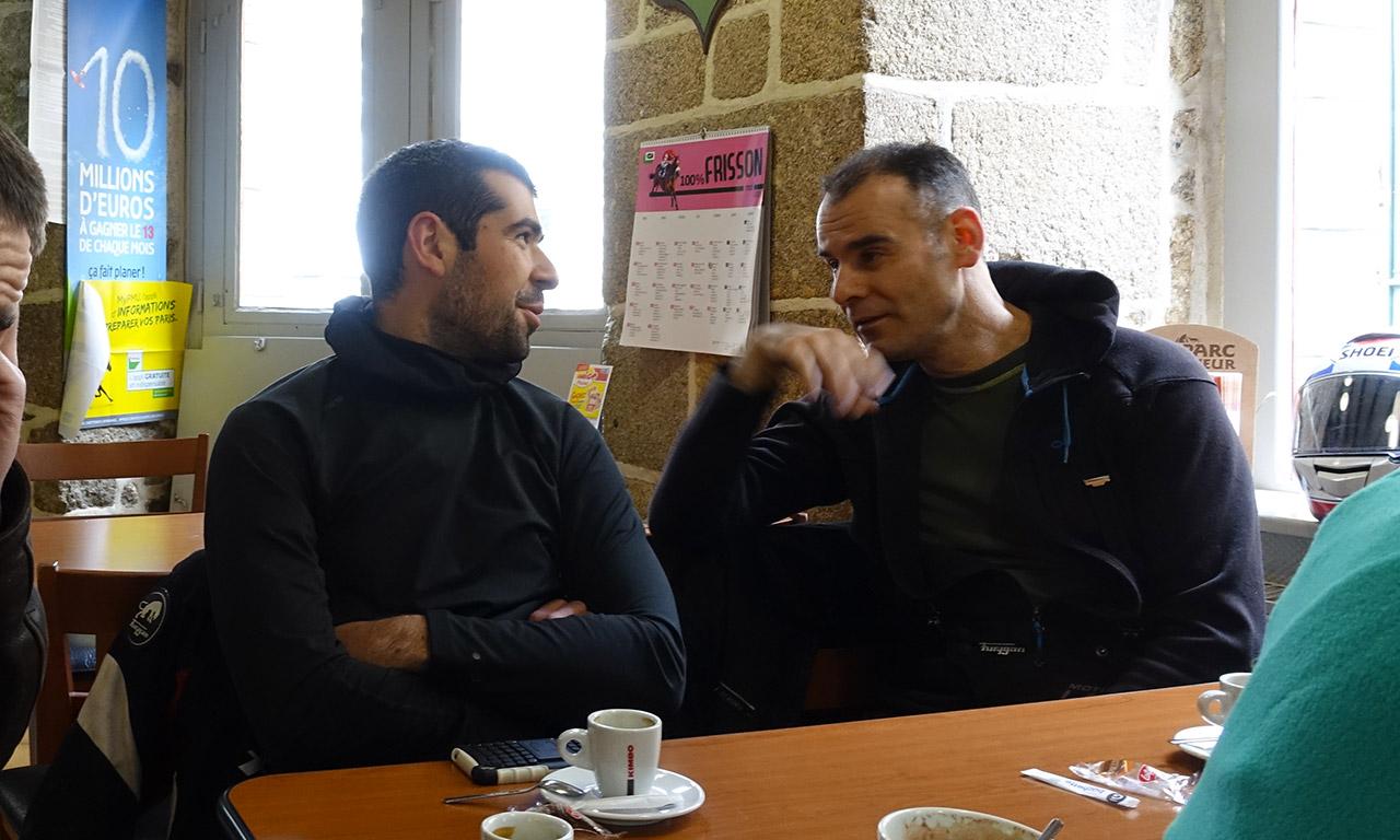 Romain et Jean-Claude à Moncontour