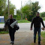 Philippe et Florent au Tour de Bretagne à moto