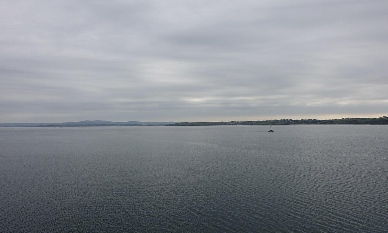 vue mer depuis Douarnenez