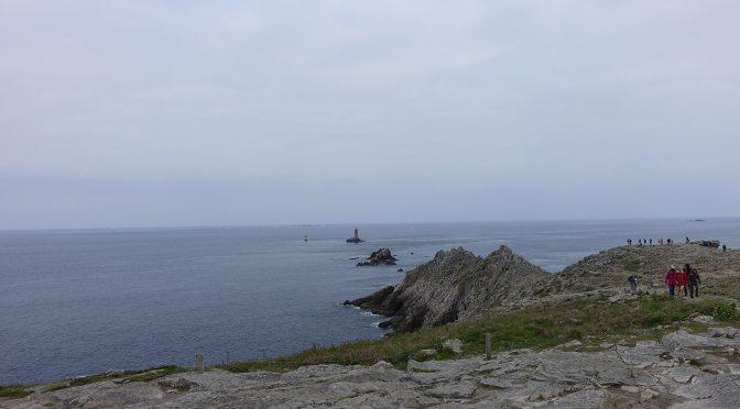 A la pointe du Raz (Finistère)