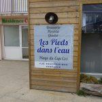 Restaurant les pieds dans l'eau au Cap Coz