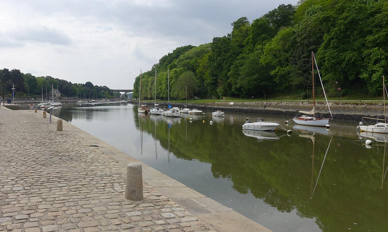 port de Saint-Gouestan à Auray