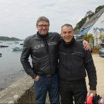Laurent et Jean-Claude pendant le Tour de Bretagne 2016