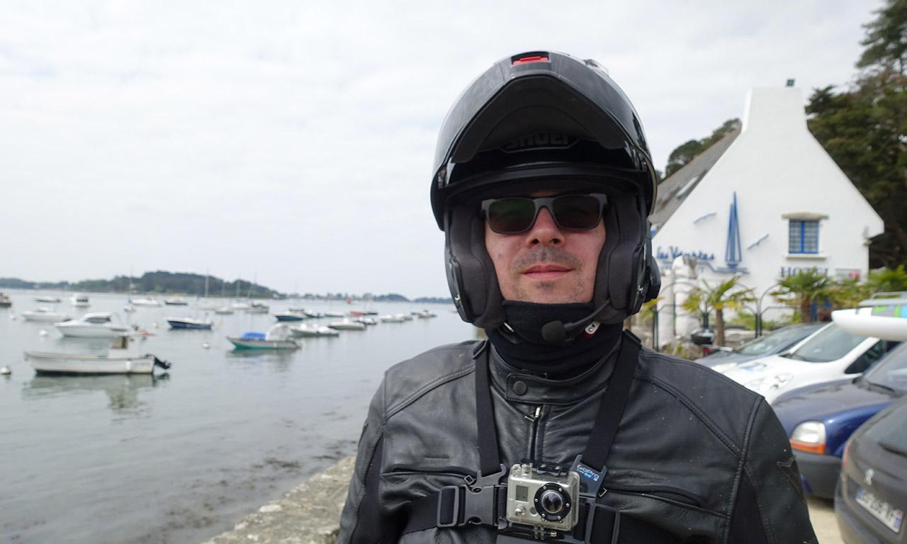 David Jazt avec son Neotec et GoPro