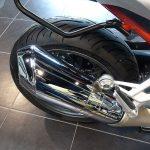 échappement chrome BMW moto