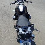 au guidon de la moto de David Jazt