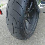 Metzeler Z8 sur le pneu arrière R1200R