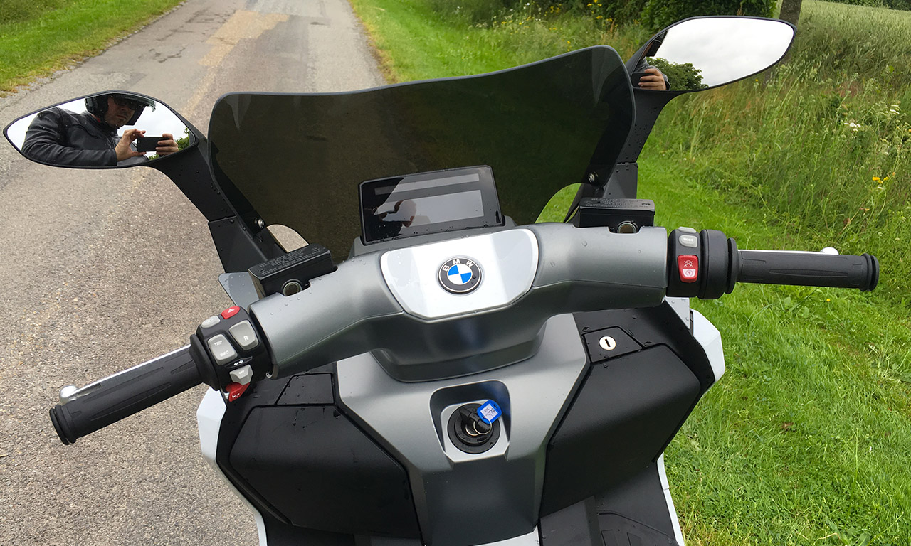Au guidon du C-Evolution BMW : le scooter électrique