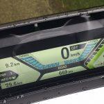 tableau de bord du scooter électrique BMW