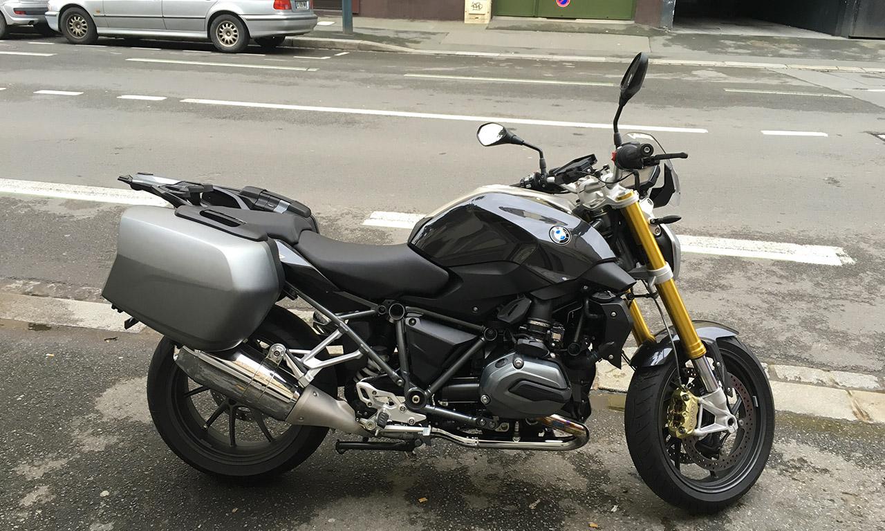 moto BMW touring
