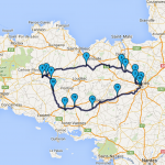 balade moto et roadbook Bretagne