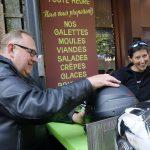 Arnaud et Marina : motards Rennais