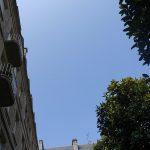 ciel bleu sur saint-malo