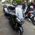 pause motarde à Bazouge