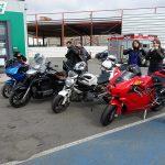 départ balade moto