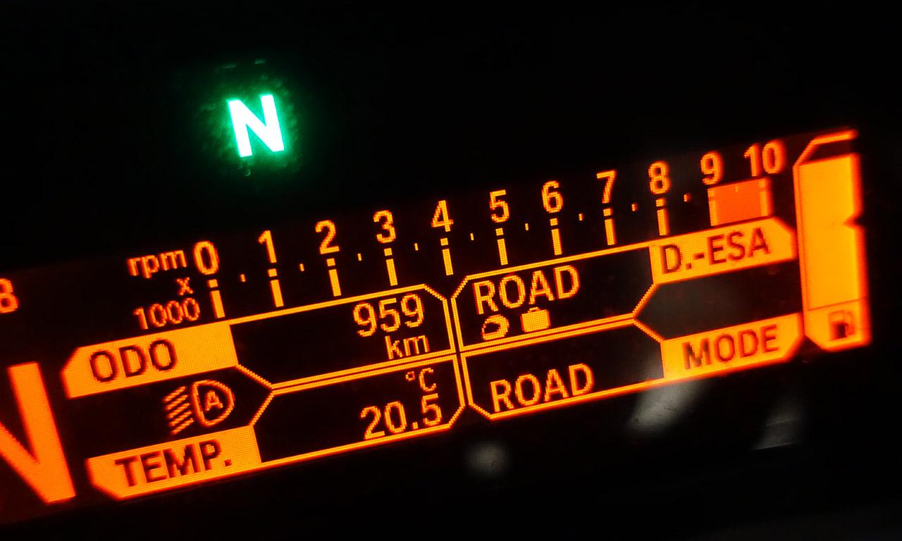 1000km de rodage sur le R1200R BMW