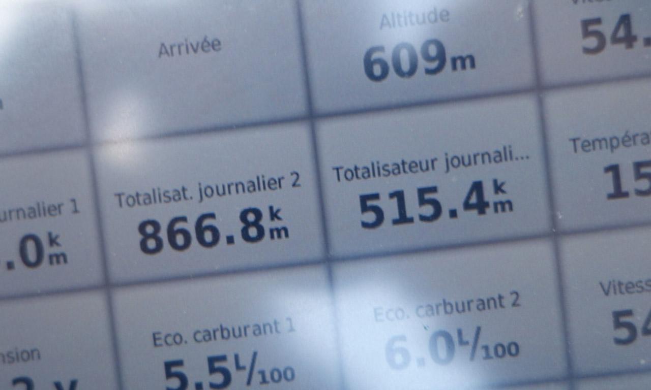 515km pour la première journée