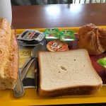 petit déjeuner au Balladins de Limoges