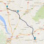 roadbook Bergerac à moto