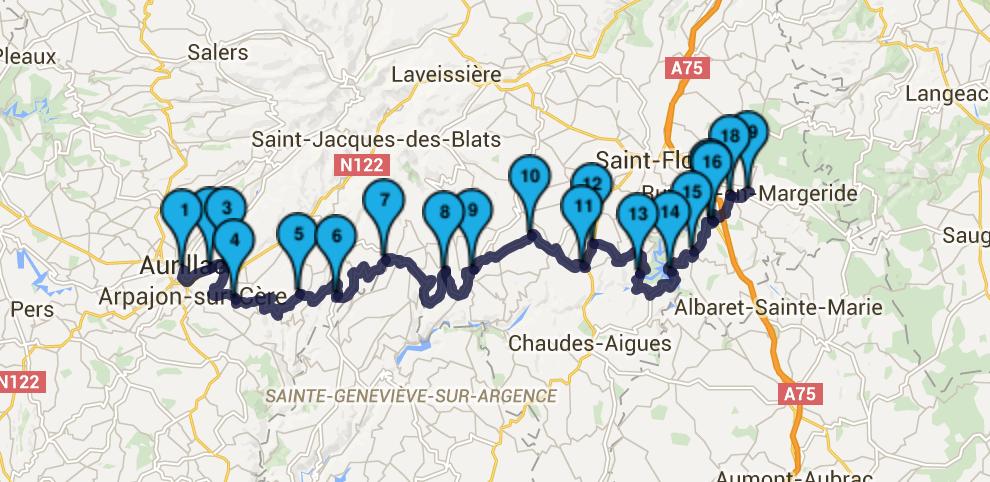 roadbook massif central