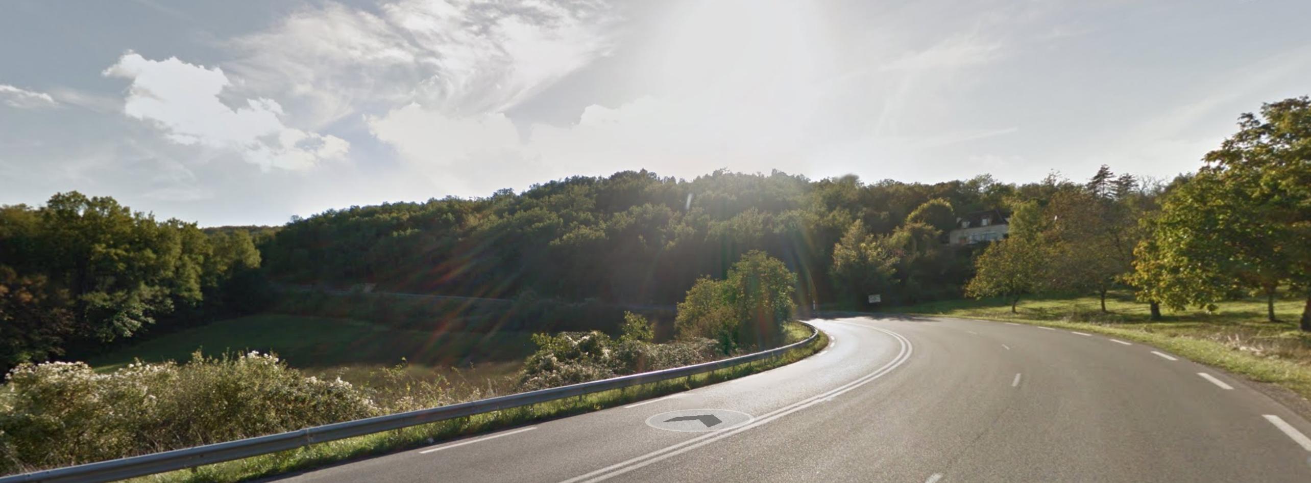Les virages de Lanzac, Languedoc-Roussilon