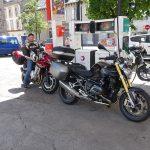 plein d'essence moto