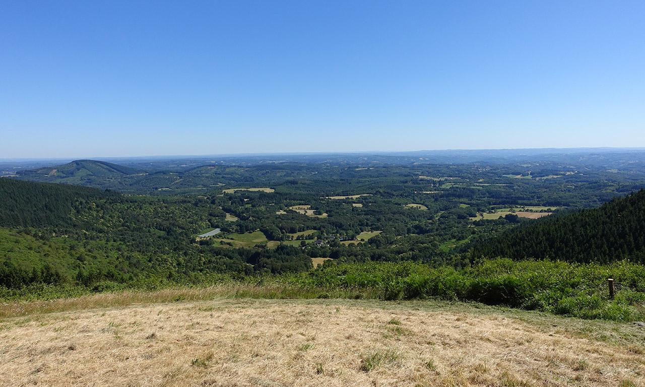 vue panoramique depuis le Col du Suc de May
