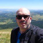 David Jazt au Puy de Dôme, juillet 2016