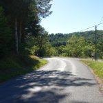routes sinueuses en Dordogne