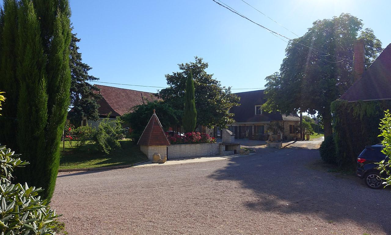 David Jazt recommande l'escale à la ferme Laupillère à Sarrazac