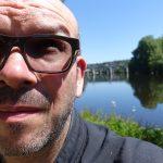 David Jazt en bord de Vienne
