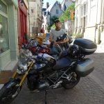 pause motard à Saumur