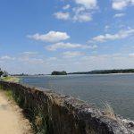 le long de la Loire à moto