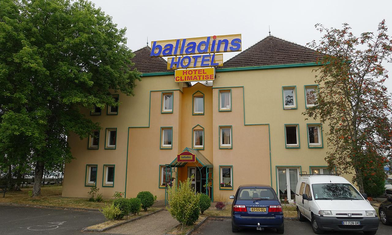 Nuitée à l'hôtel Balladins de Limoges