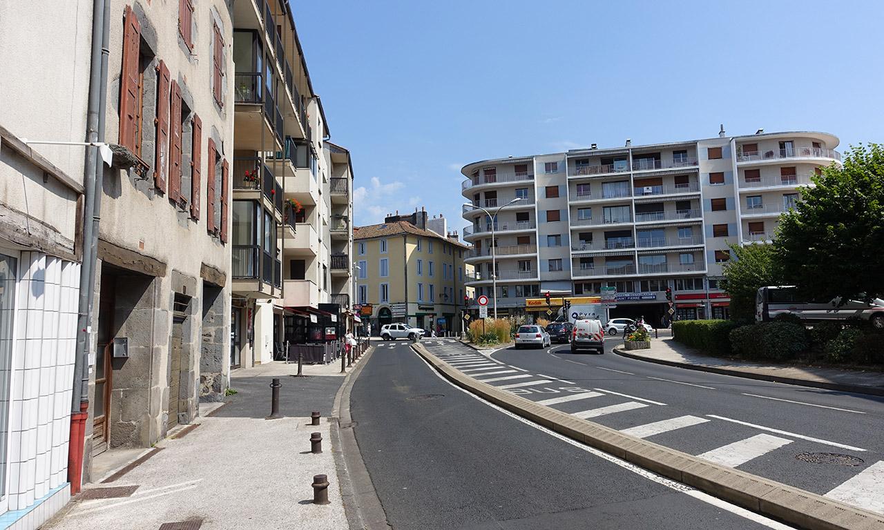 centre ville d'Aurillac