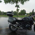 forte pluie à Toulouse en ce 30 juillet
