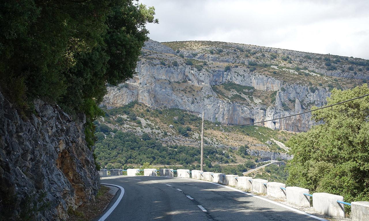vue sur la route d'Espagne