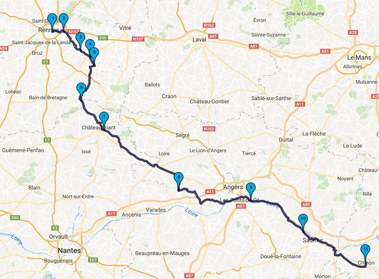 roadbook aux petits oignons