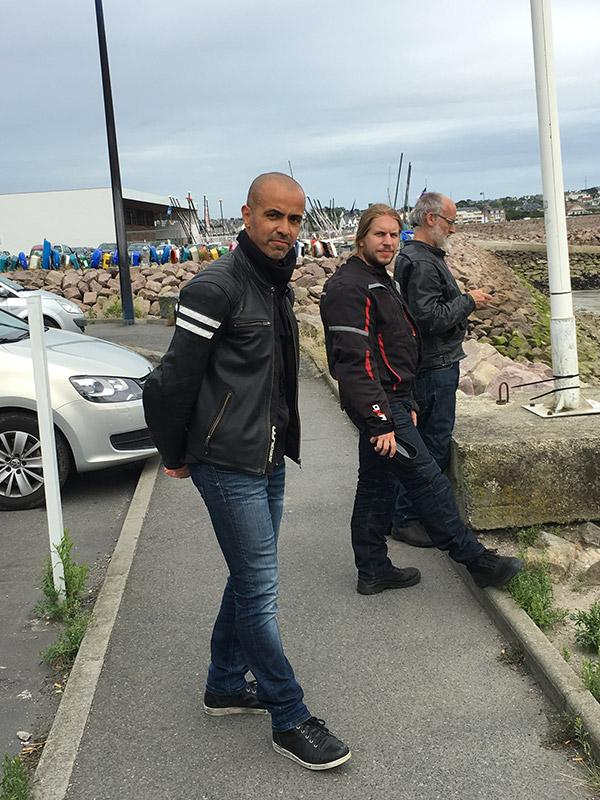 Salah, Romain et Jef à Erquy