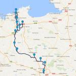 roadbook saint-malo Rennes à moto