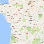 situer le gouffre de padirac sur une carte de France