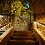 les escaliers du gouffre de Padirac