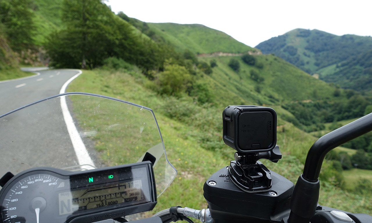 GoPro : caméra idéale à moto