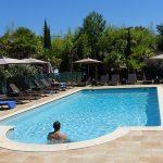 piscine à l'hôtel le Lodge de Bayonne - Ondres