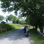 pause motarde au coeur des montagnes