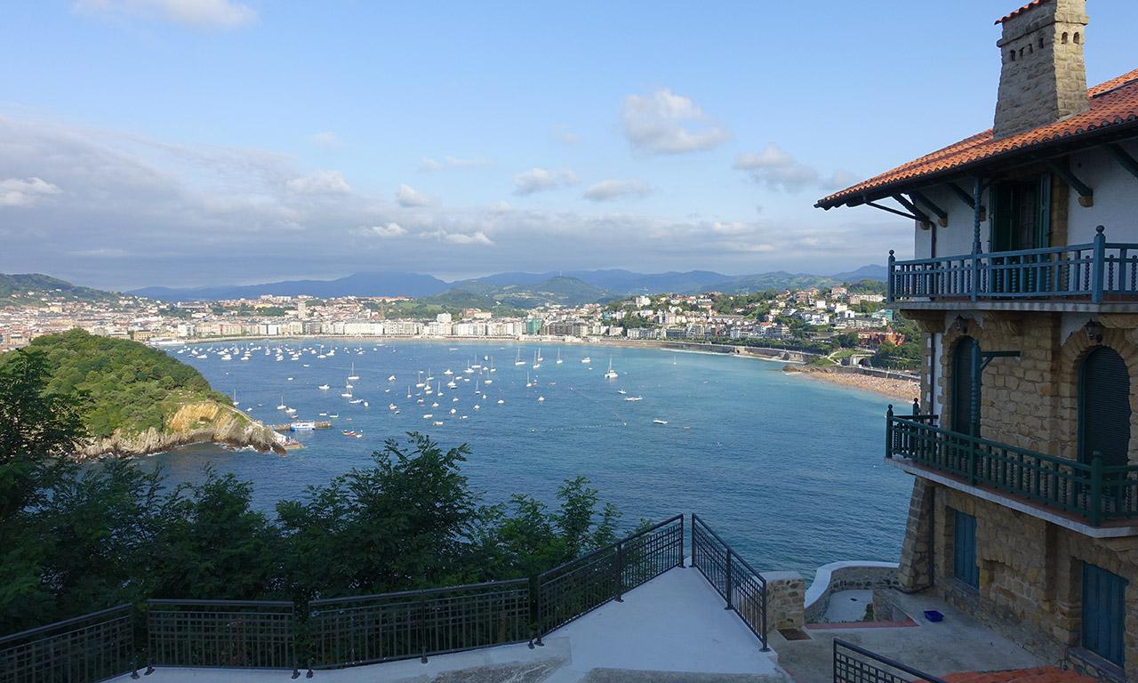 vue Saint Sebastien du côté de l'hôtel Mercure