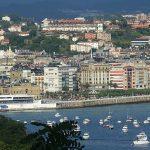 zoom sur la ville de Saint Sebastien